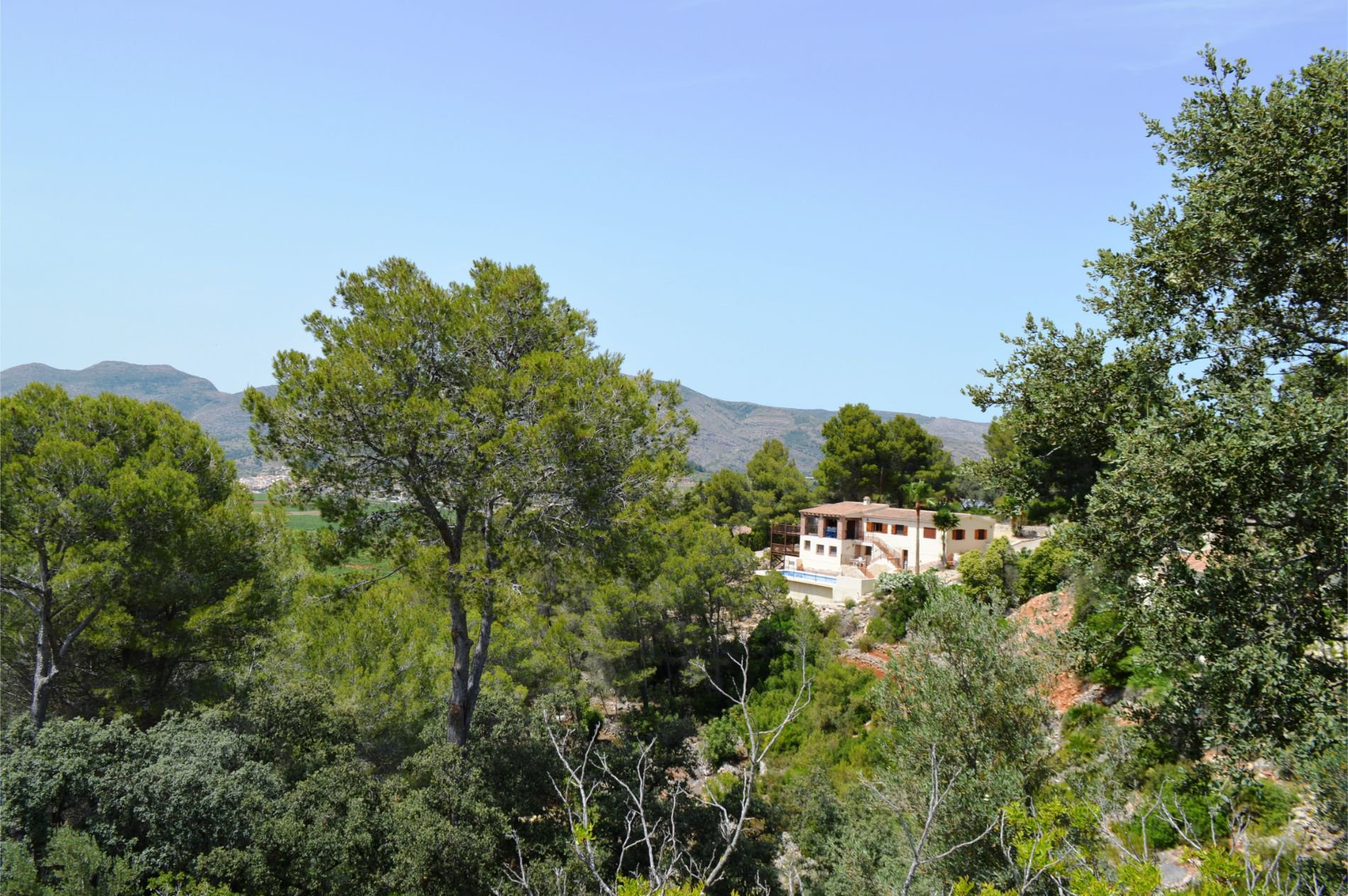 Villa privée impressionnante avec une vue imprenable sur la montagne
