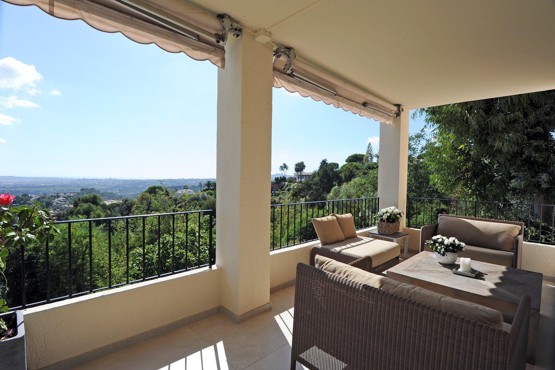 Appartement exceptionnel avec vue féerique Cap, d'Antibes