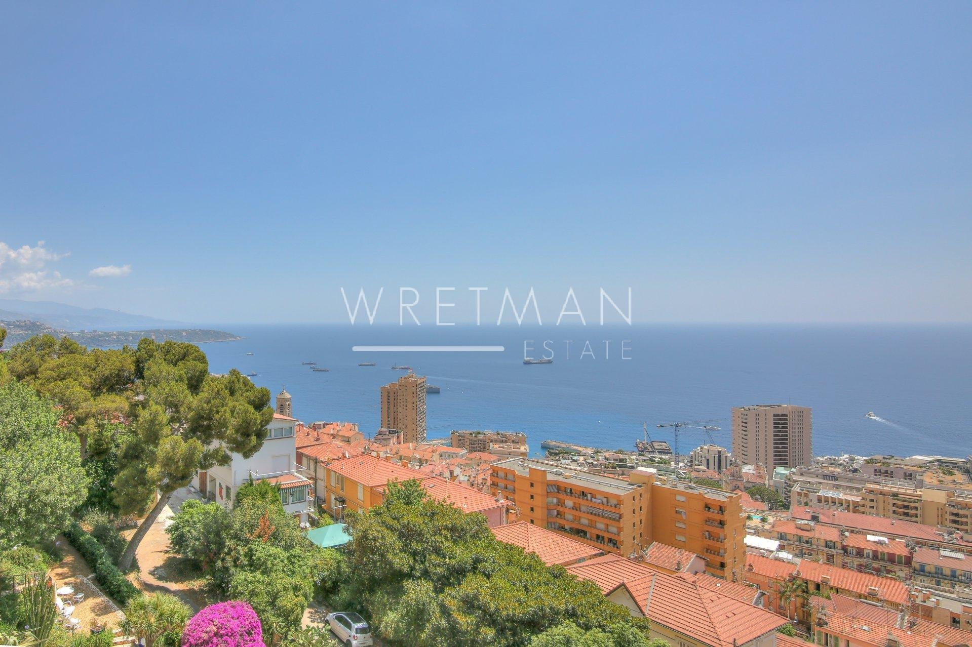 Luxurious 2-bedroom flat with magnificent views - Beausoleil