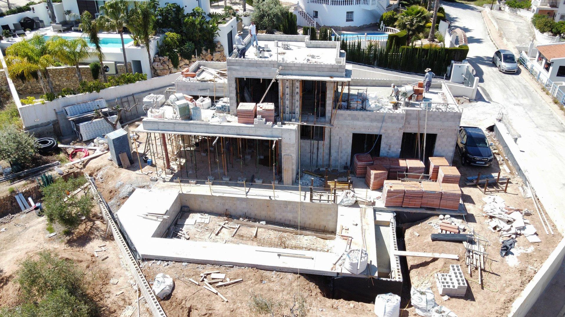 Building project close to La Fustera