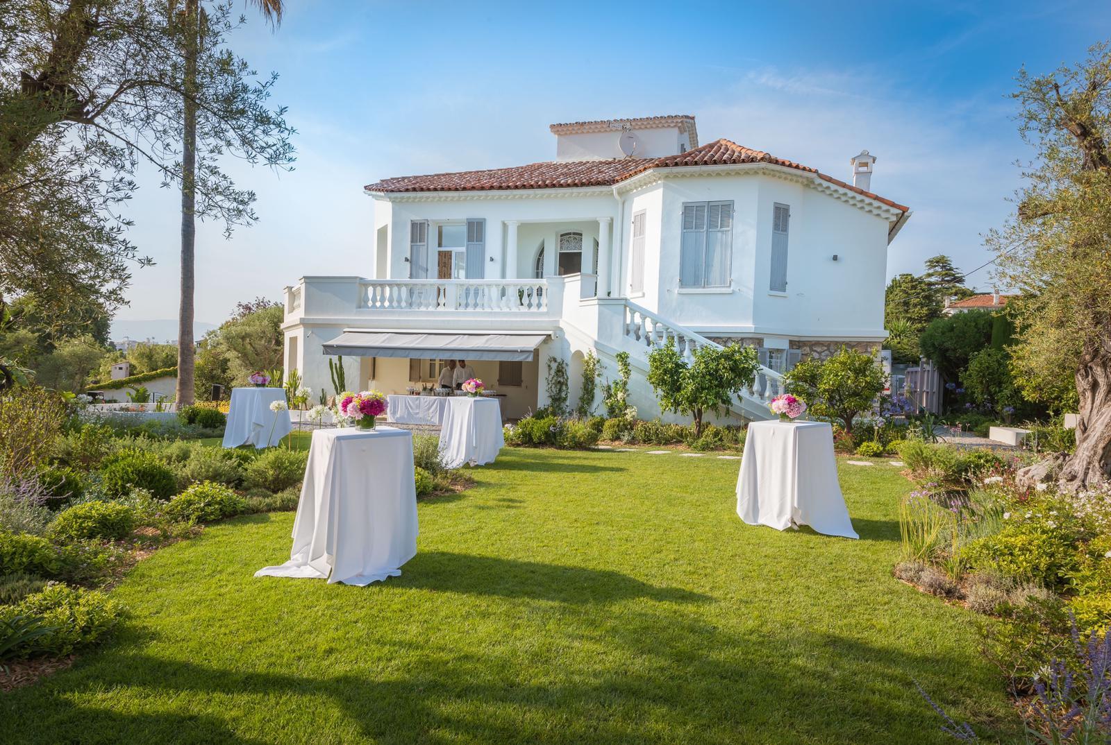 Villa de style Belle Epoque au Cap d'Antibes