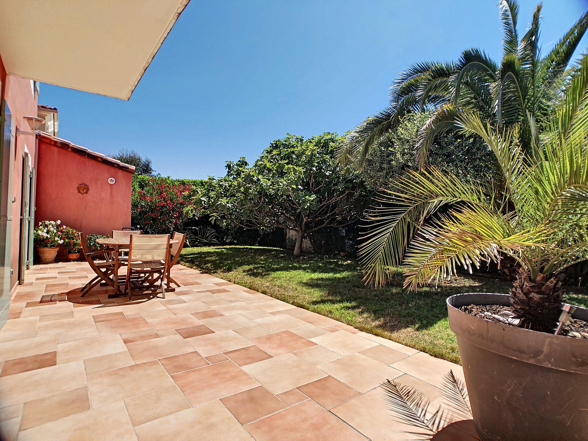 Cannes La Bocca, Villa 4P dans domaine sécurisé