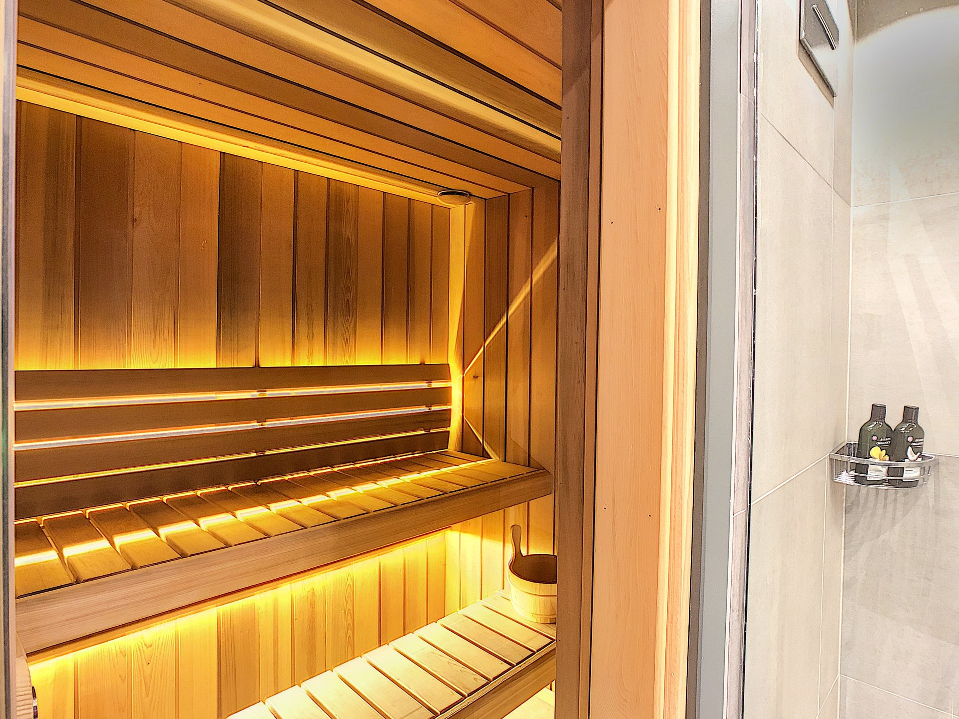 Sauna for 4 people
