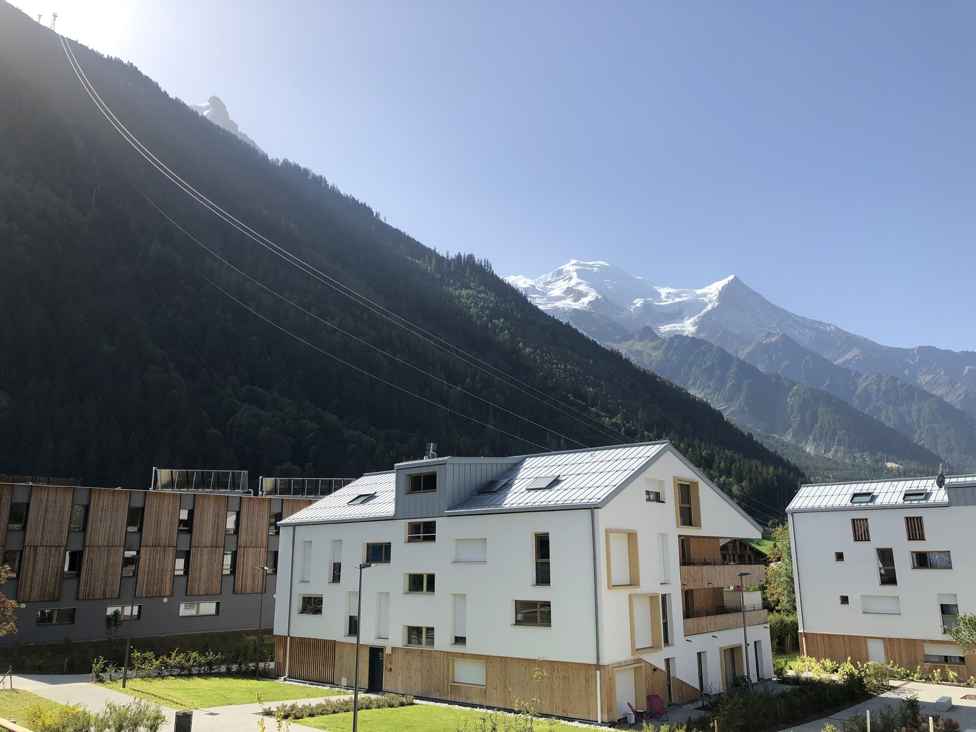 House on 3 floors, Chamonix centre