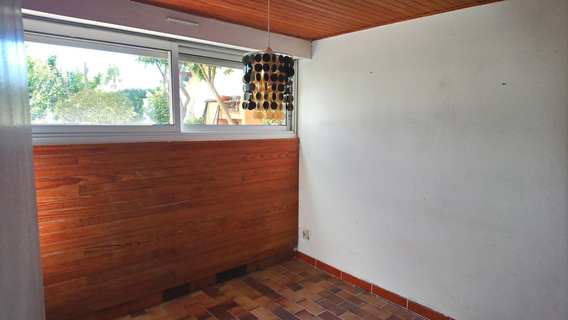 Gruissan rive droite exclusivité T3 cabine avec rez de jardin