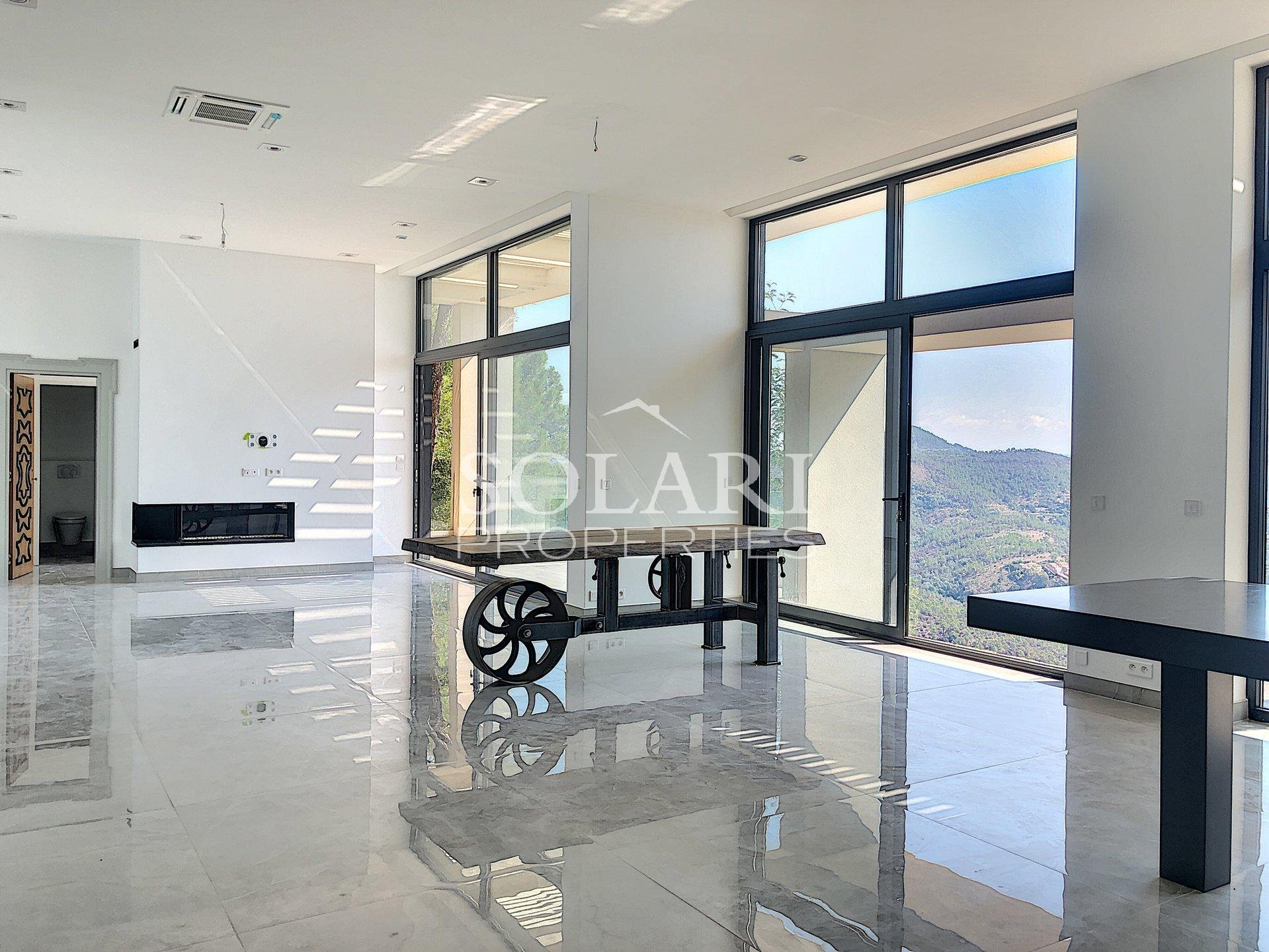 Contemporary villa situated in Le Trayas with a sea view