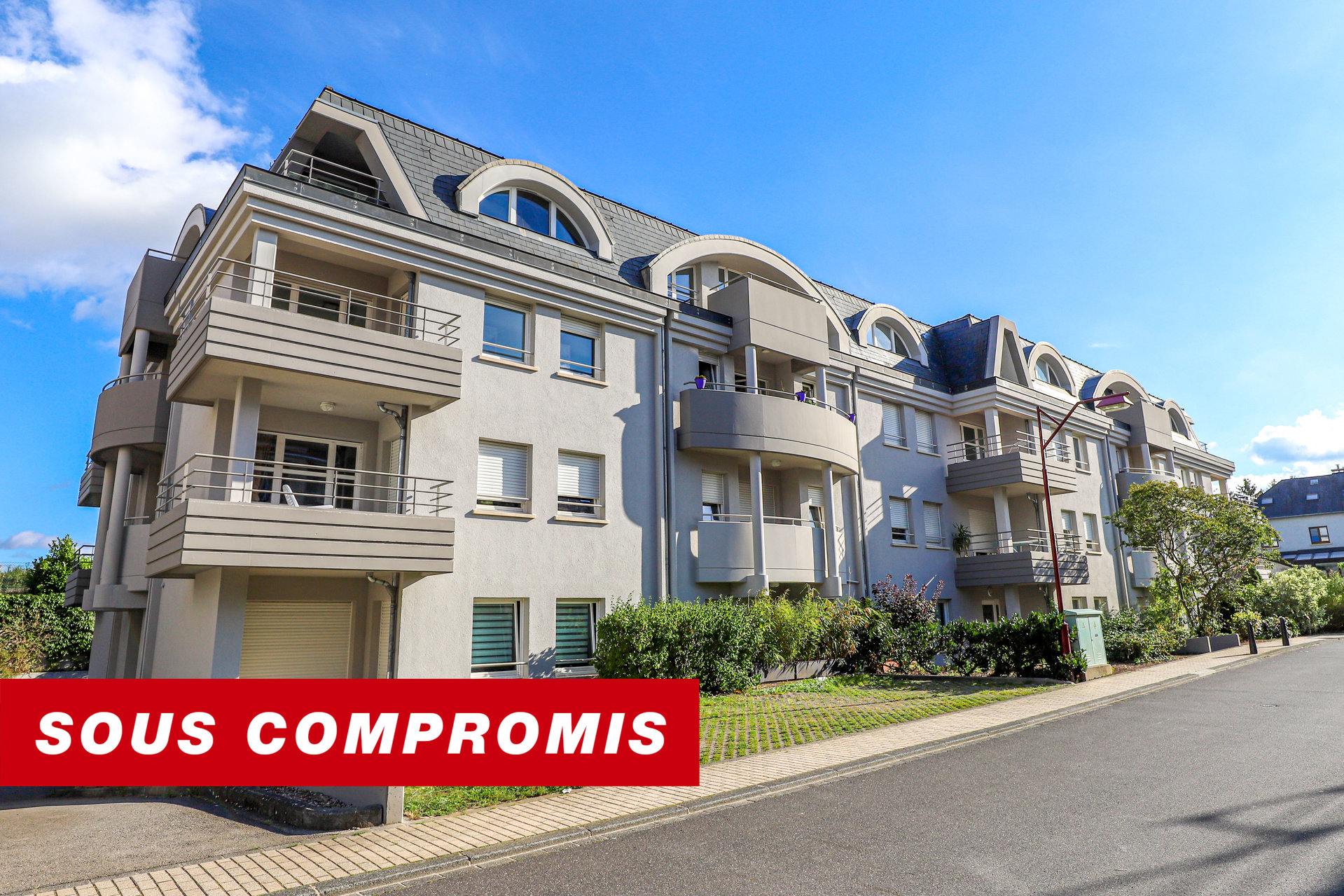 COMPROMIS SIGNE - appartement à 1 chambre à coucher à Roeser