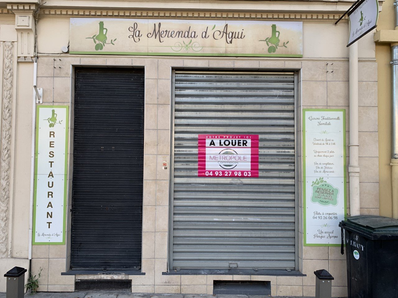LOCATION PURE - LOCAL COMMERCIAL - ACROPOLIS - 44 M²
