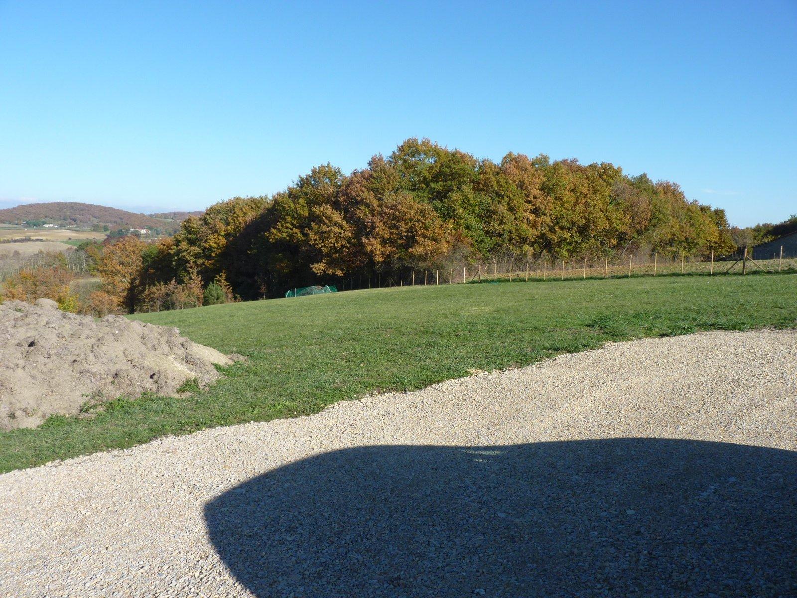 Proche de Castillon de St Martory, terrain constructible viabilisé de 5753 m²