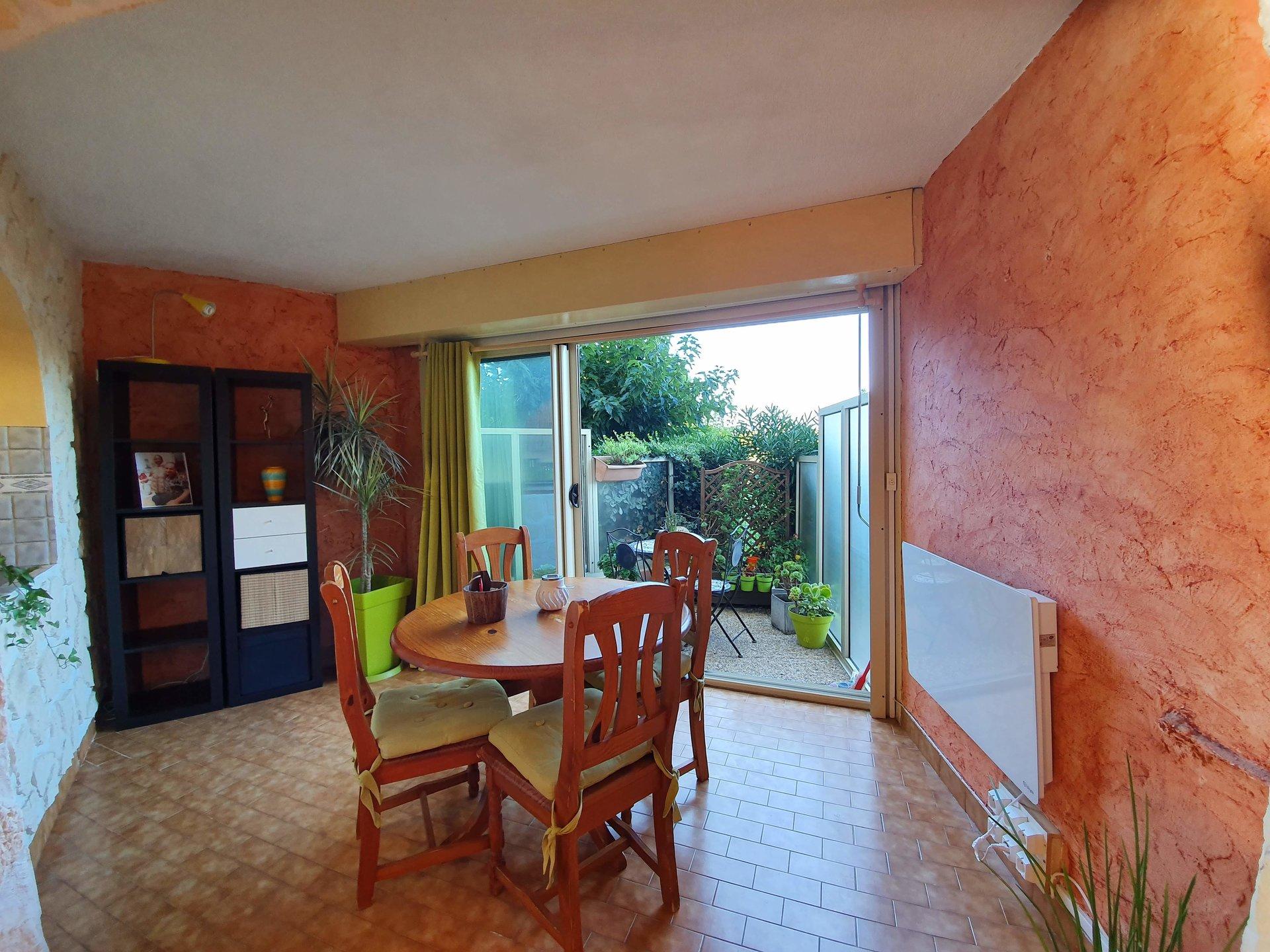 Appartement T2 50m² rez-de-jardin