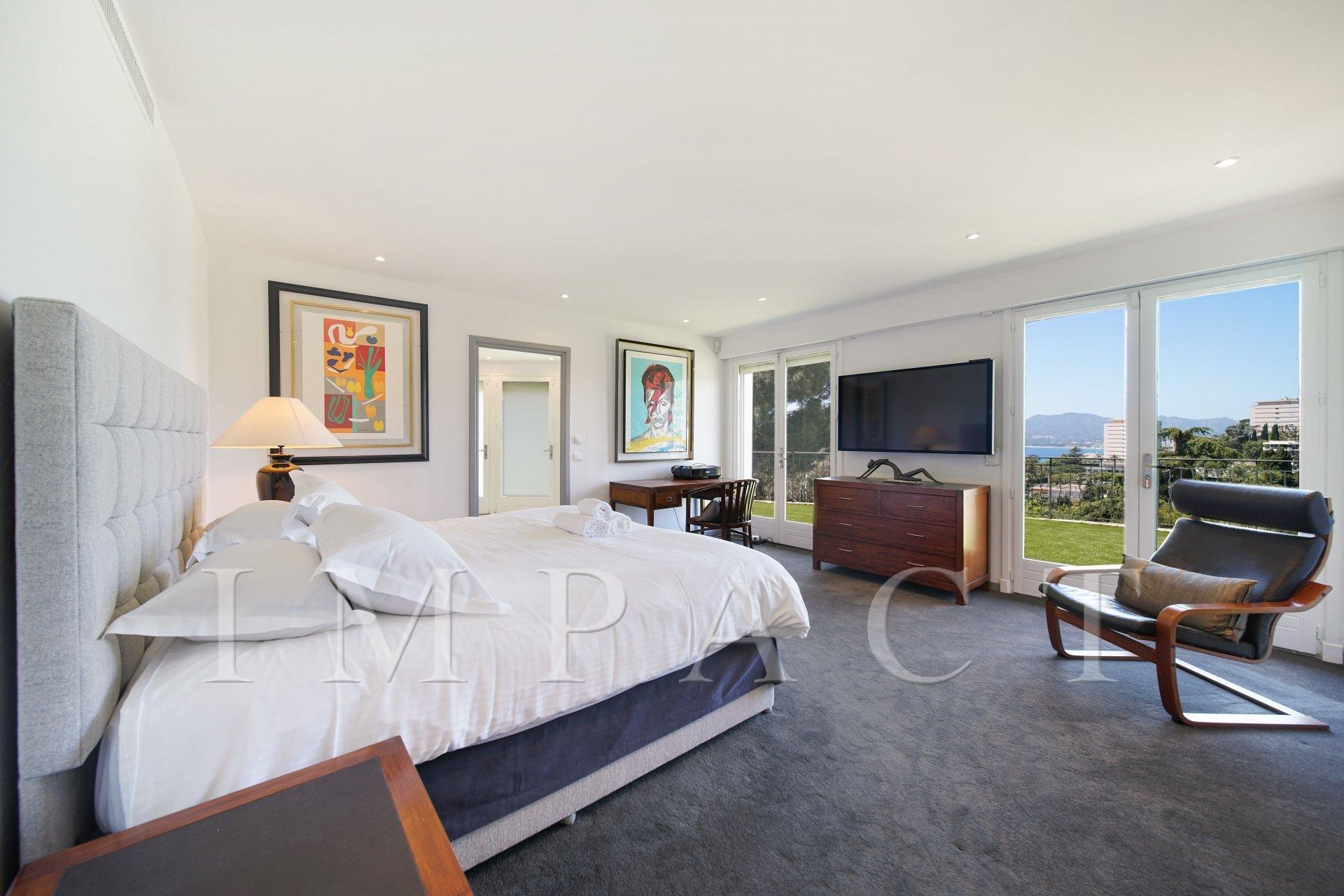Panoramic sea view villa to rent in Croix Des Gardes