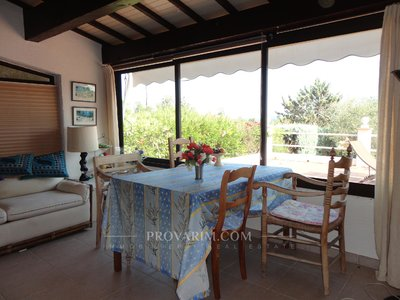 Fayence area: californien style villa one level with pool