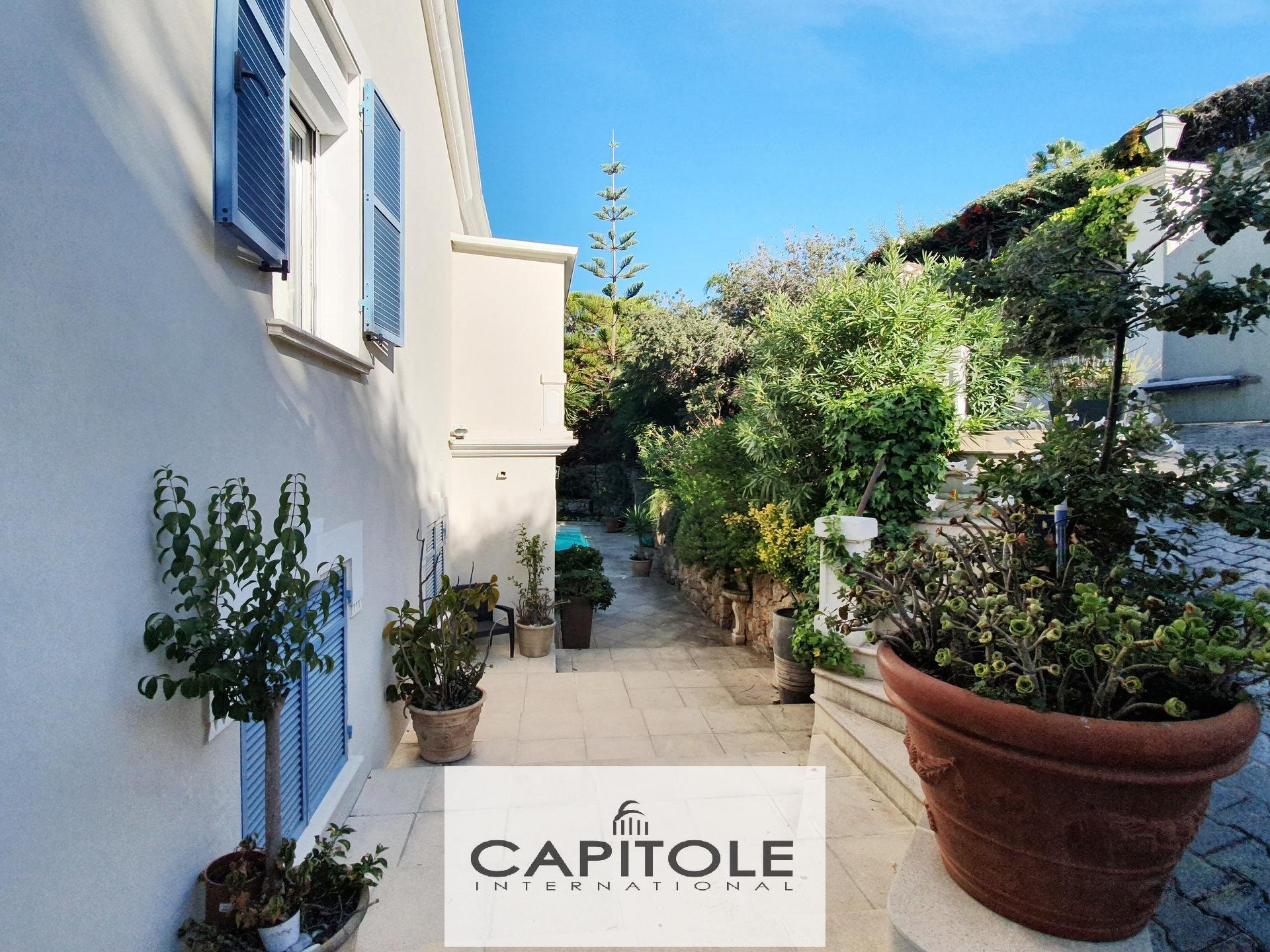 For sale, Cap D'Antibes,  5 bedroom villa, swimming pool, garage