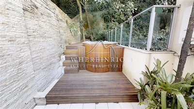 W02.970 - Luxury penthouse for sale with 4 suites w/ pool , ofurô in Alto Leblon