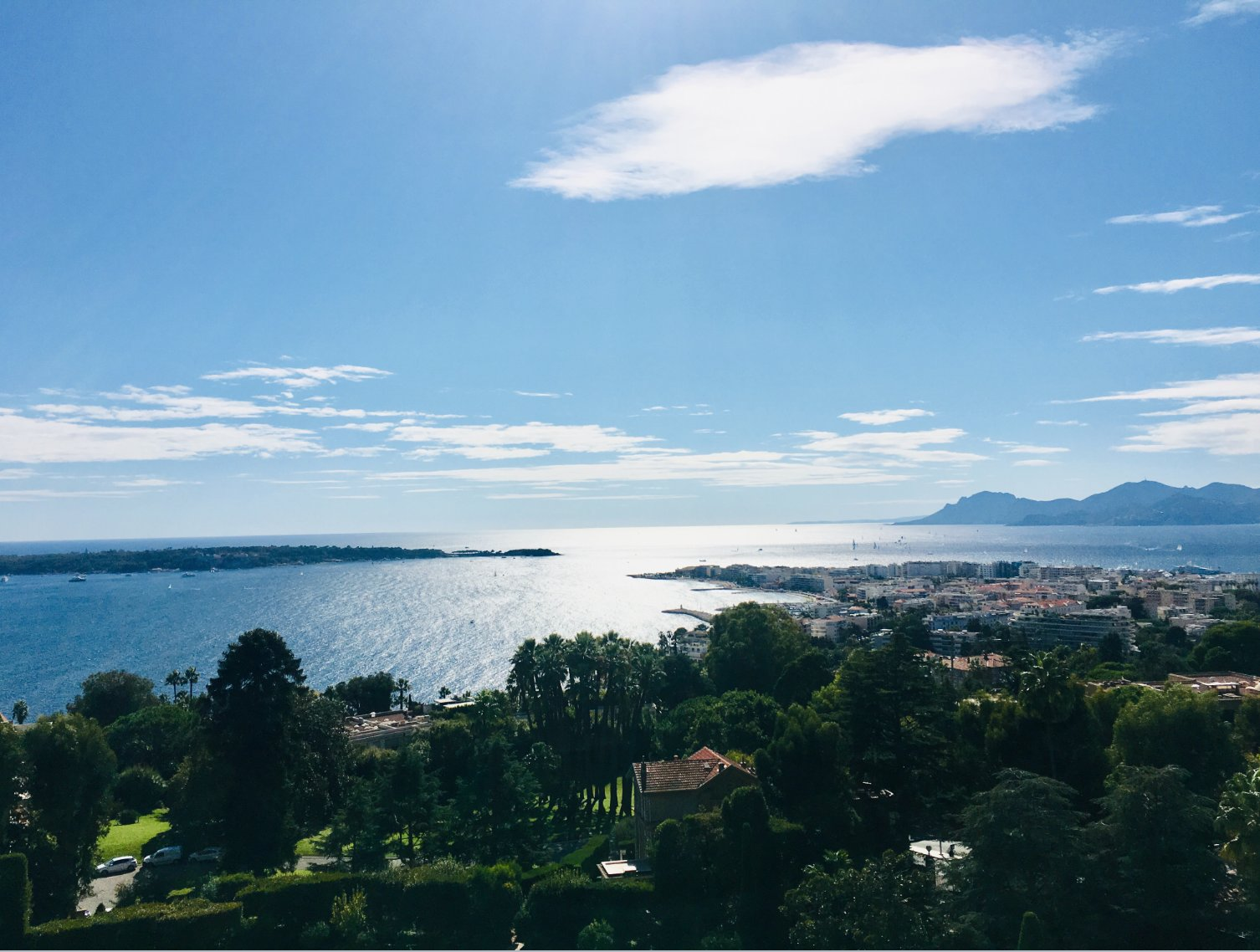 Cannes Californie 3 p 108 m2 panoramic view