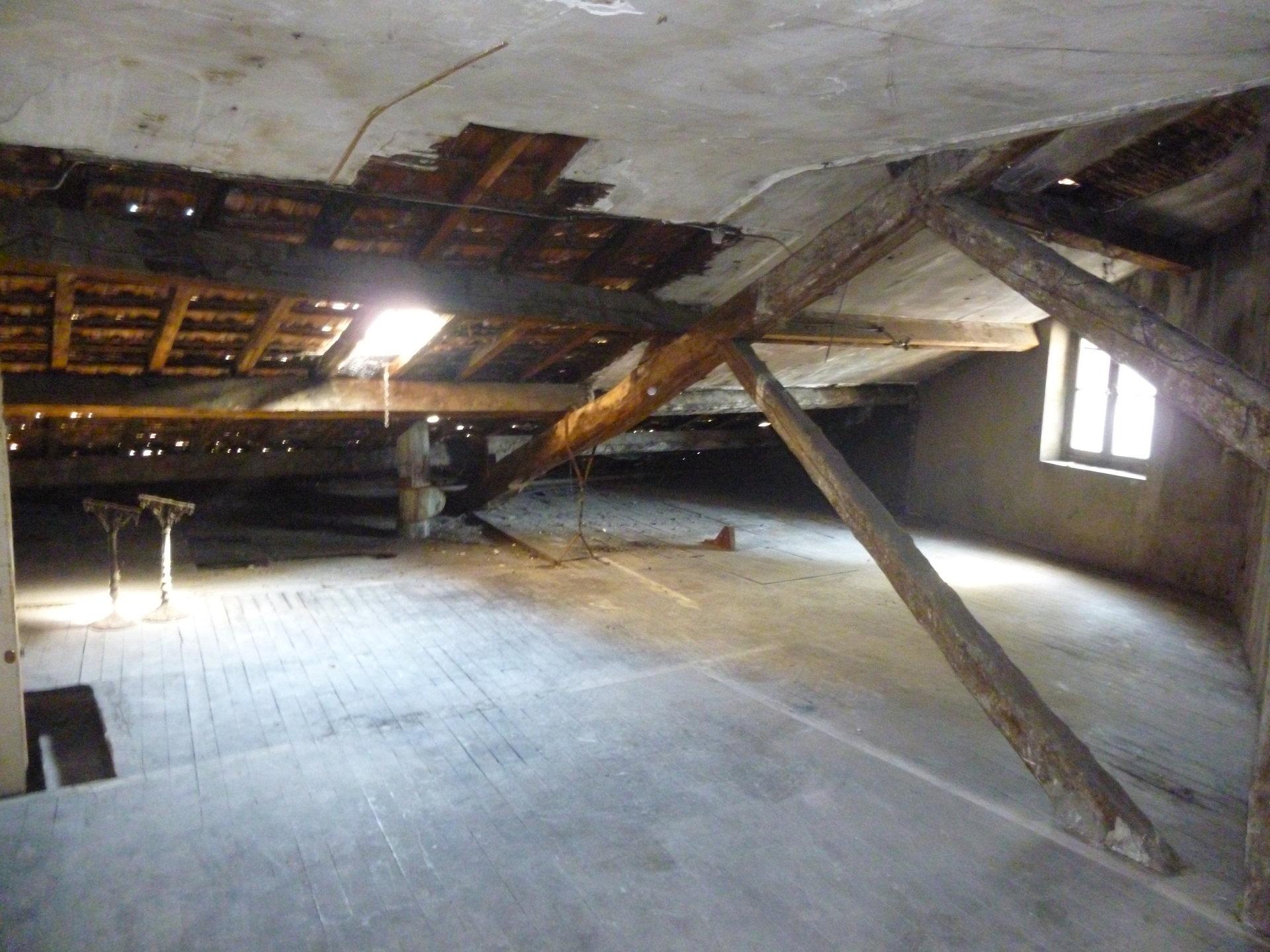 GRENIER 32 m²  (74m² au sol)