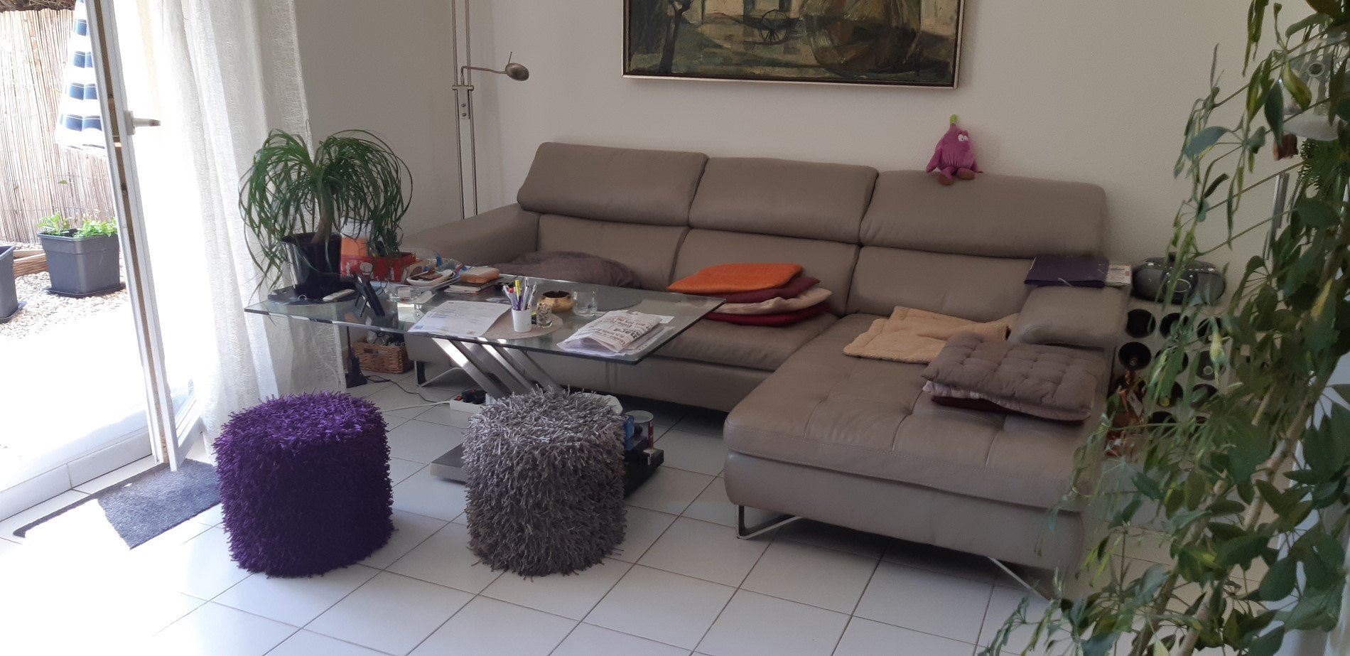 Two bedroom apartment with small garden