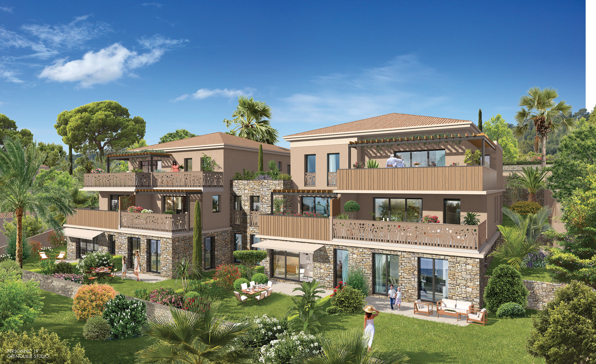 Dernière opportunité : Villa sur le toit à Giens (programme neuf)