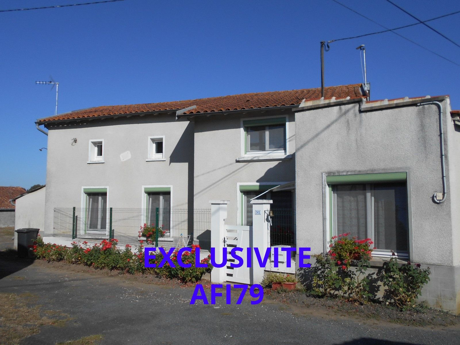 Pavillon axe Thouars-Montreuil Bellay