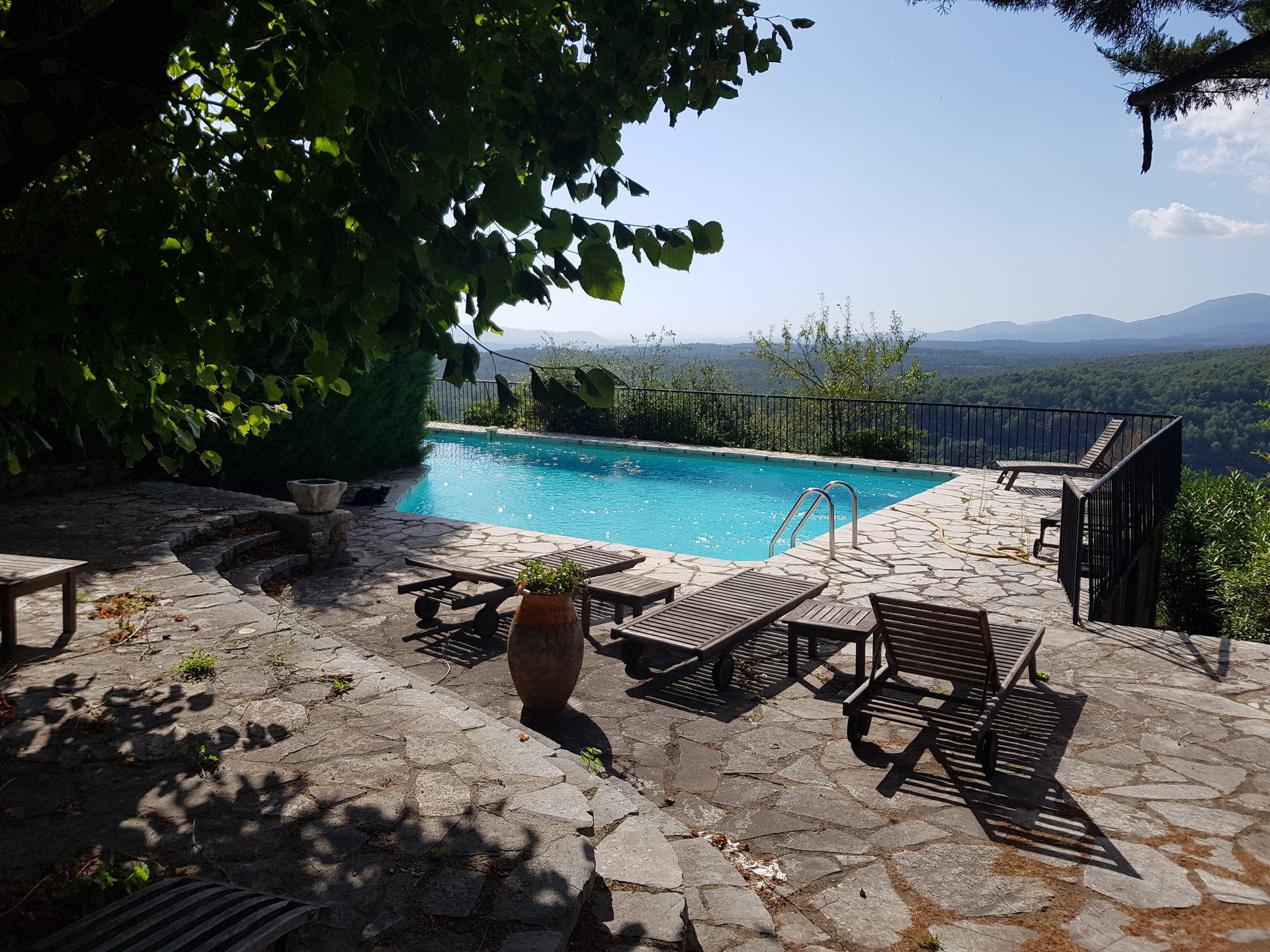 Magnificent Village House - 27 Rooms - Pool - Panoramic View - SAINT CEZARIE SUR SIAGNE
