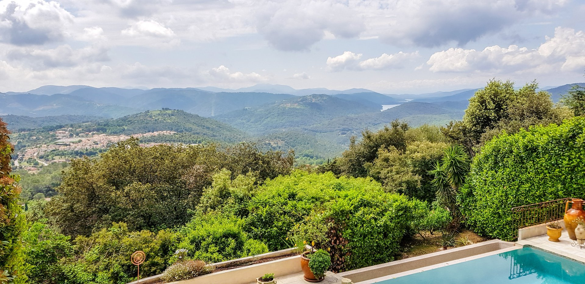 Magnificent Provencal Villa - 180 ° Panoramic Sea - 5 Bedrooms - LE TIGNET