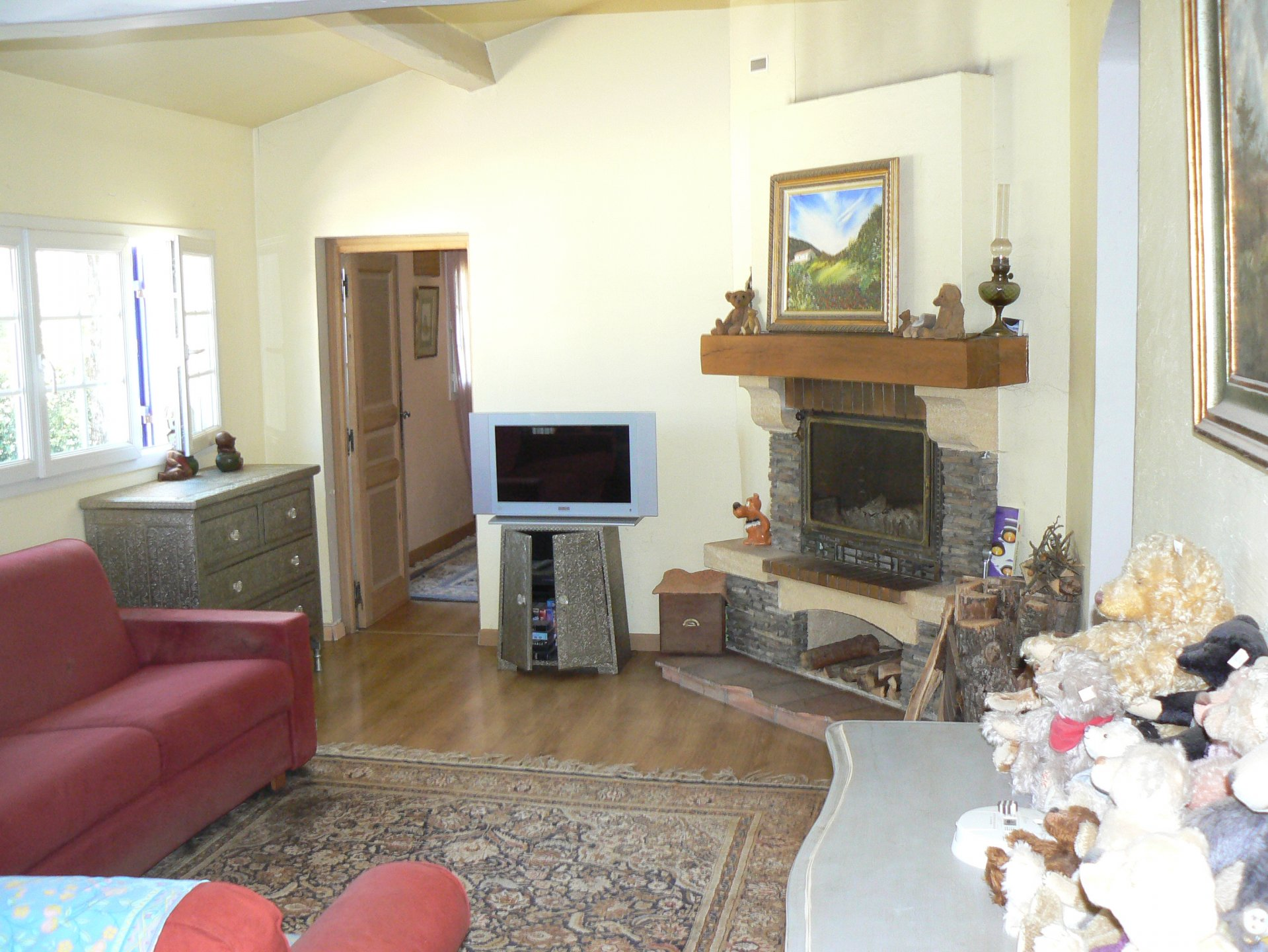 Belle maison individuelle, 5 pièces, plain pied, oriental sud, à CAUSSOLS