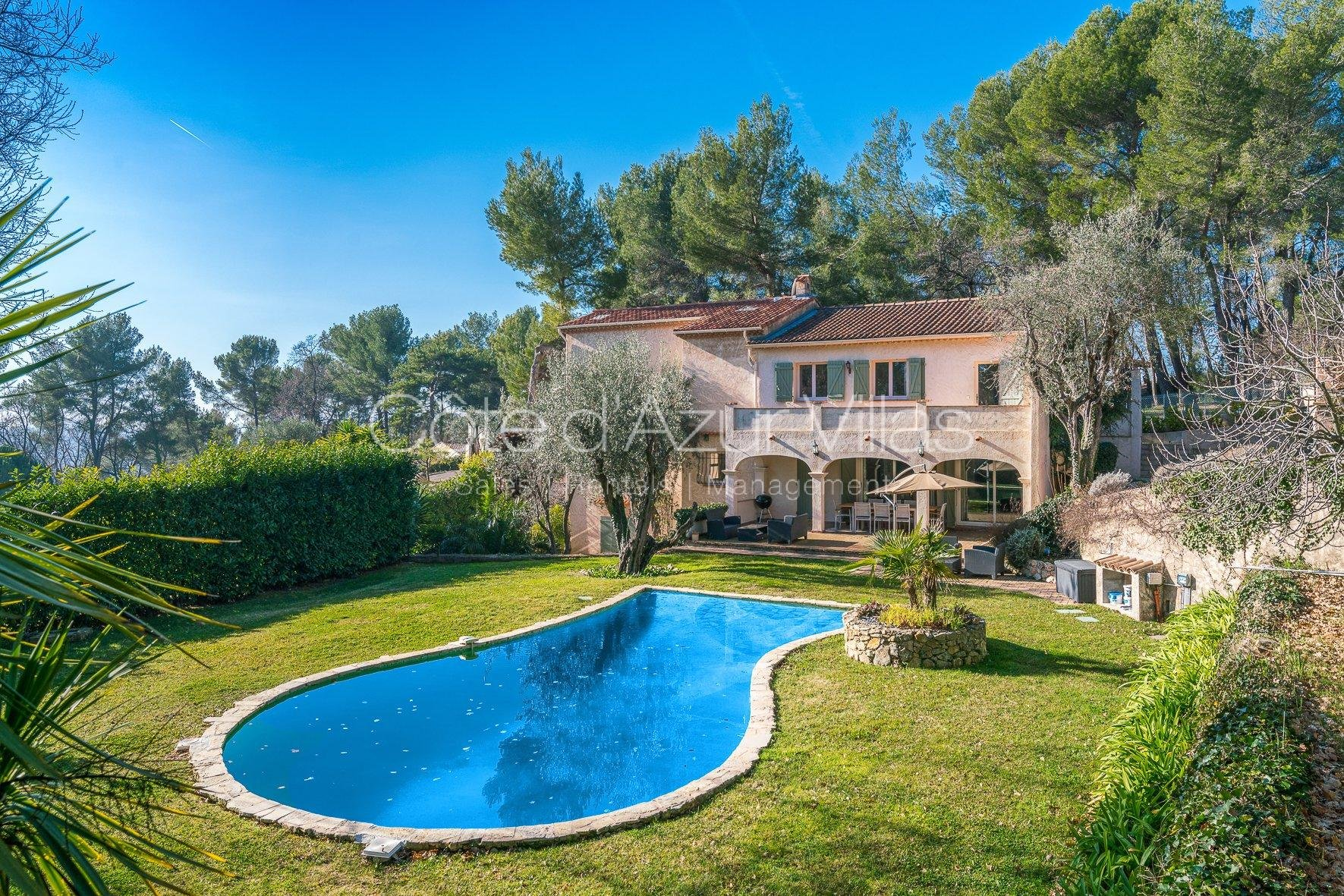 Opio - Beautiful Provencal villa in quiet surroundings