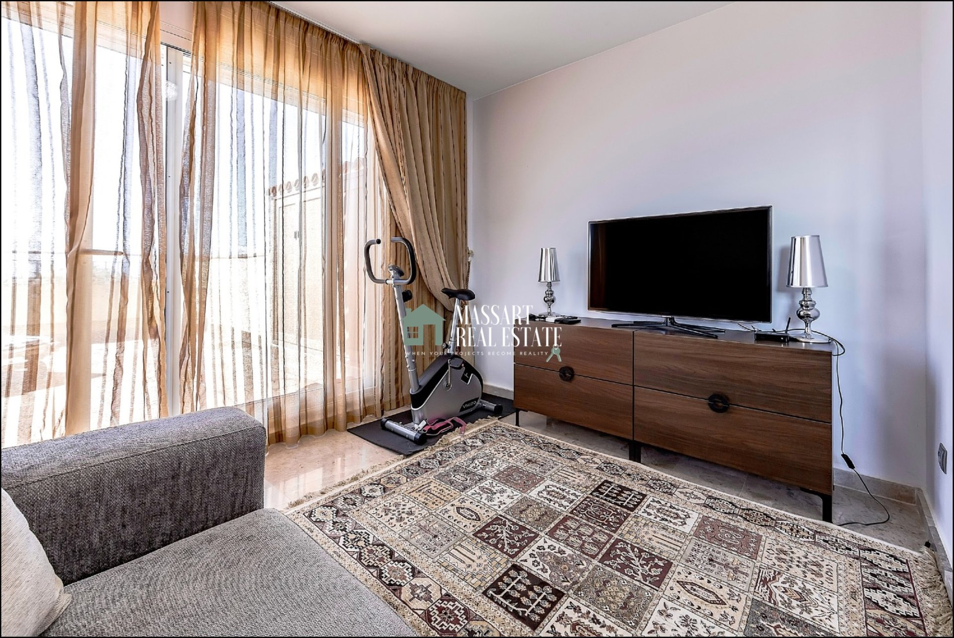 For sale in the Residential Playa La Arena (Puerto De Santiago), 97 m2  fully furnished duplex.