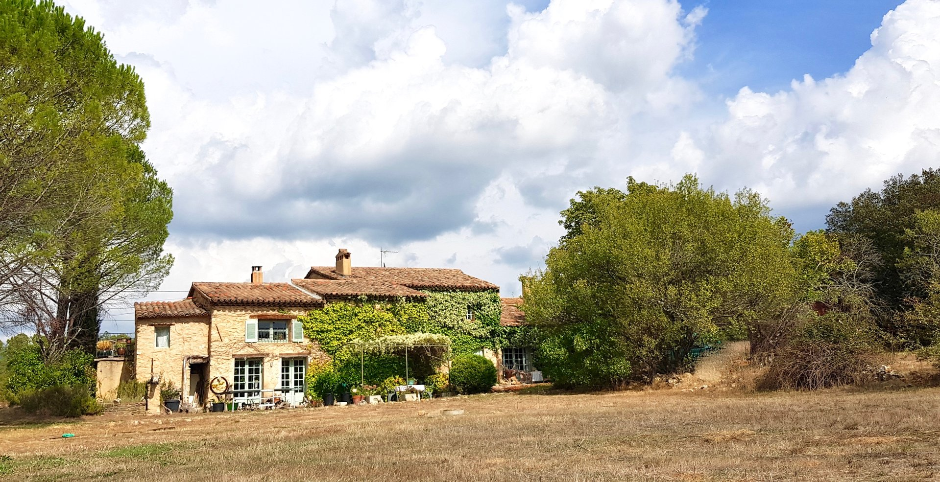 Unique Old farm house with 30 ha. private land!