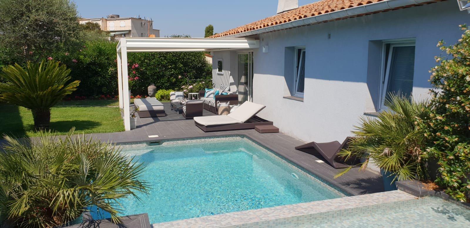 CANNES - Montfleury - Maison rénovée avec piscine