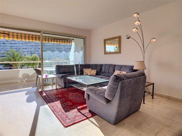 FÖRSÄLJNING Lägenhet 4 Rum Villeneuve-Loubet Marina Baie des Anges Utsikt