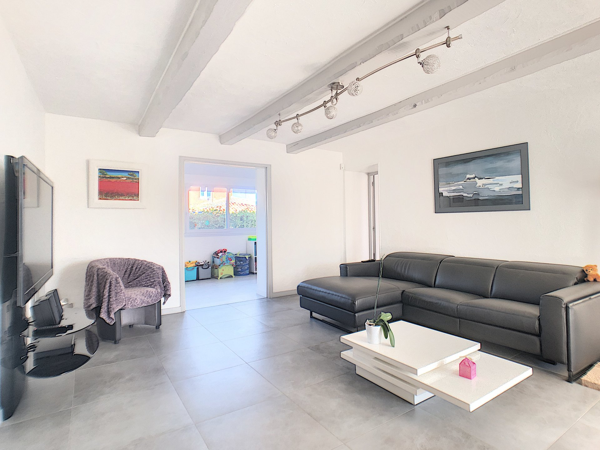 Antibes (06600) - Maison Individuelle 4p + studio indépendant + dépendance