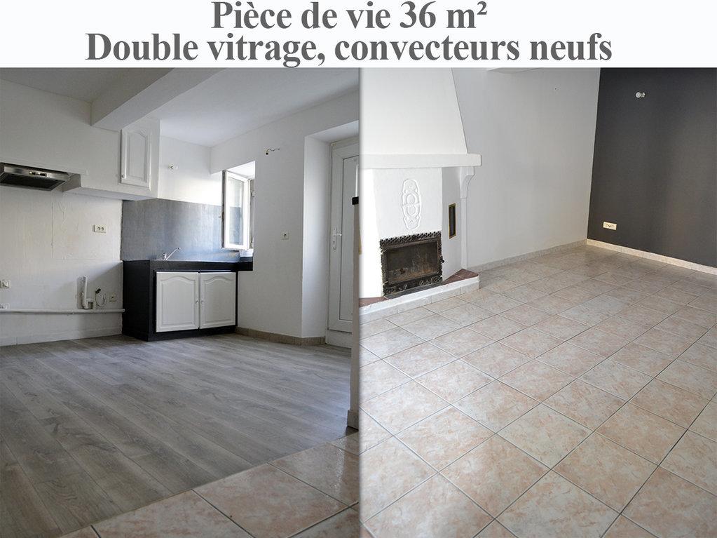 Maison en pierres T3 + dépendance - rénovée