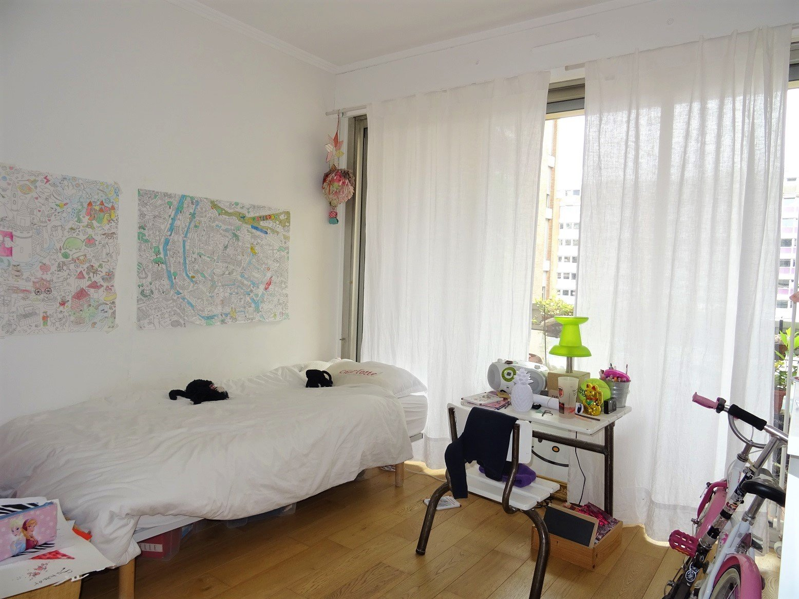 Saint-Georges, T4 de 88 m² avec parking et terrasse.