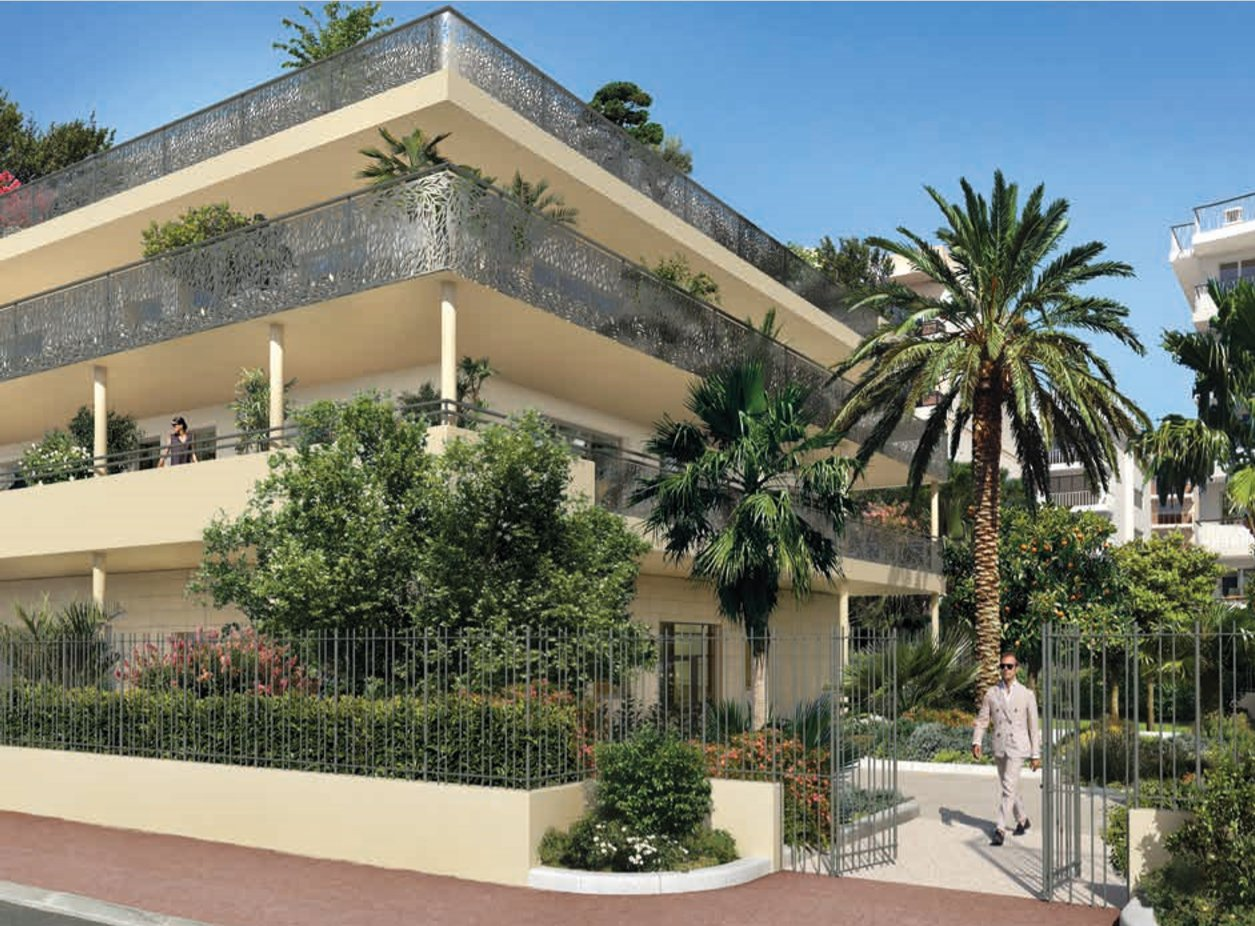CANNES/New building Palm Riviera