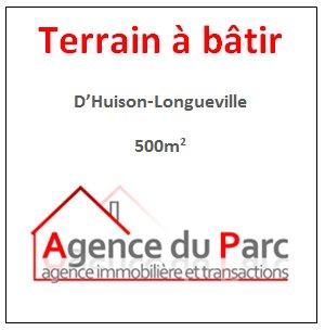 NOUVEAU TERRAIN A BÂTIR D'HUISON LONGUEVILLE