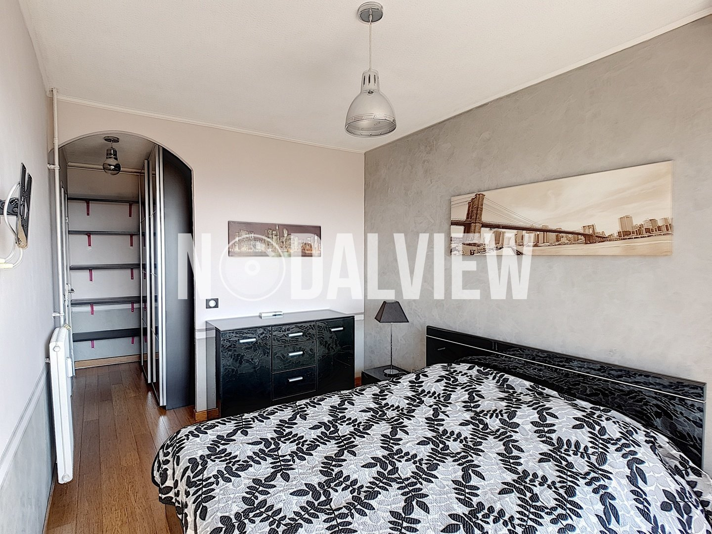 Nice two rooms furnished apartment with view, rent ALL INCLUDED