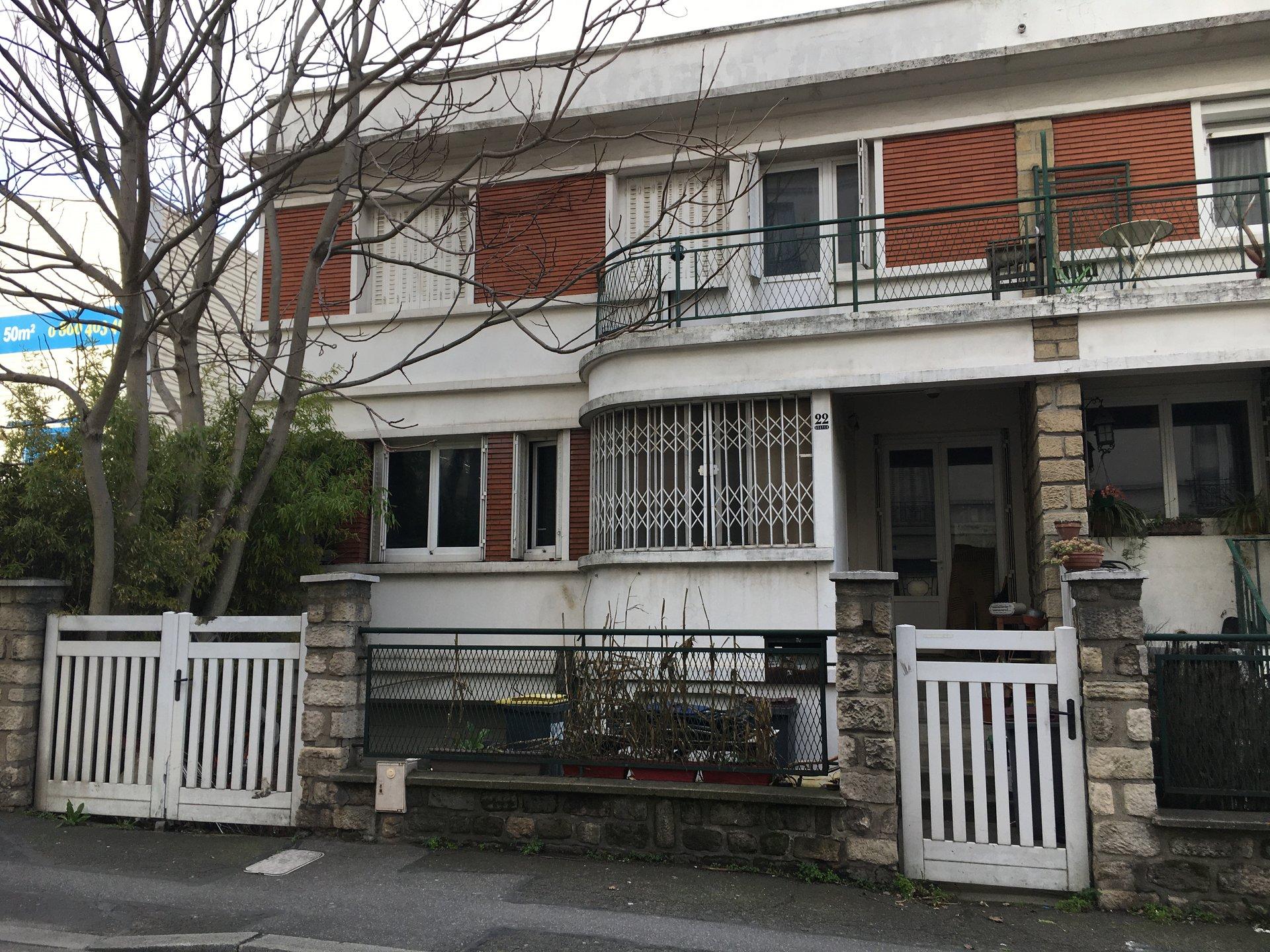 ARCUEIL 4/5 P MAISON 120 m²