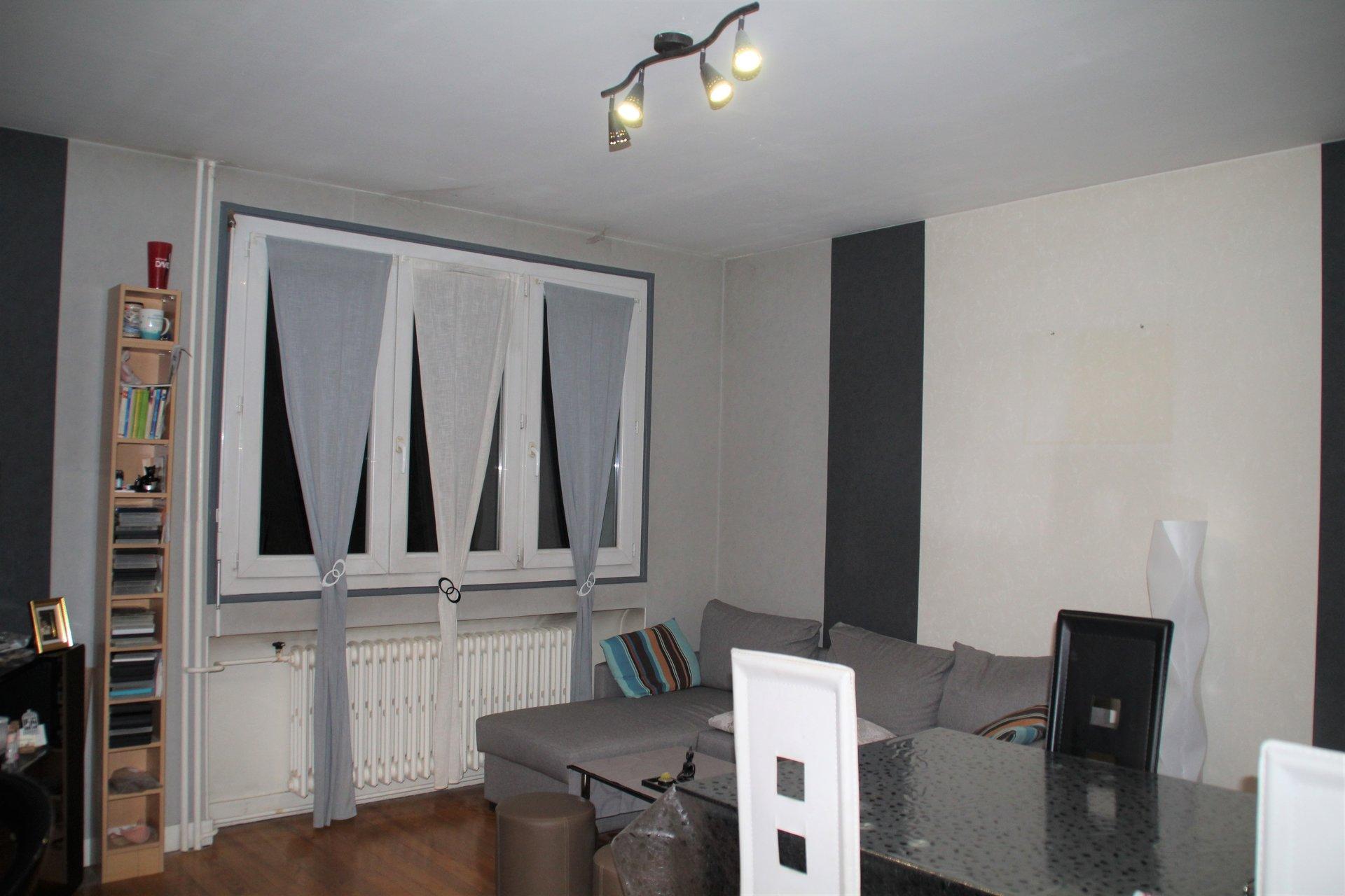 Appartement de 55 m² centre-ville Le Chambon-Feugerolles