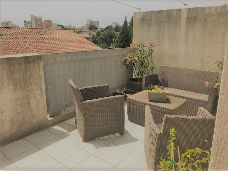 EXCLUSIF VENTE APPARTEMENT 3 PIECES  TERRASSE GARAGE FERRIERE