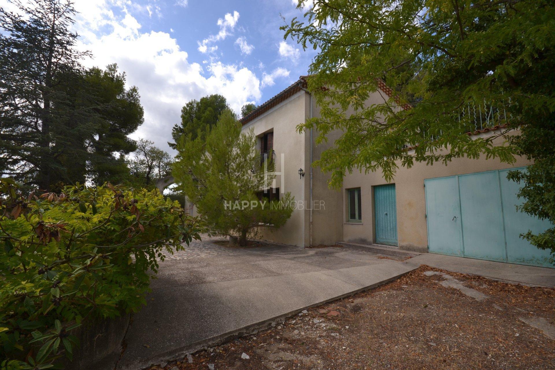 Near the center of the village of Maussane les Alpilles
