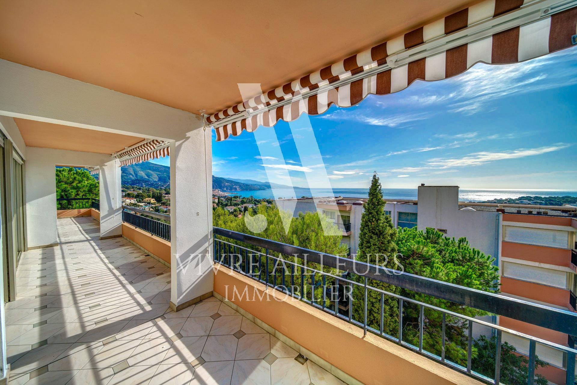 Roquebrune Cap Martin - 4/5 rooms sea view
