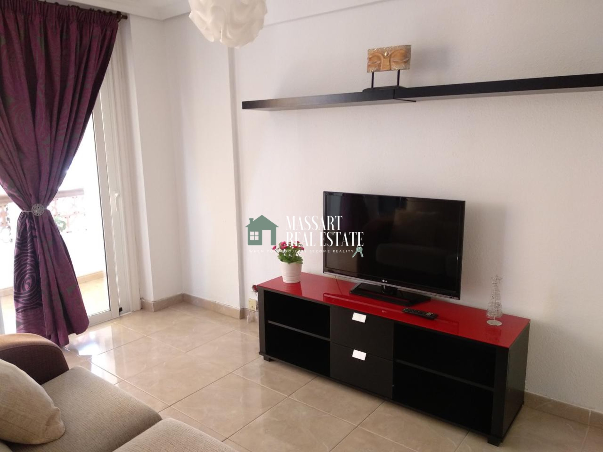 For SALE in the Flamingo complex (Palm-Mar), renovated apartment of 41 m2.