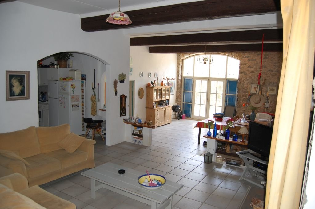 AUDE - Old stonehouse with pool and panoramic views on about 0,5 ha