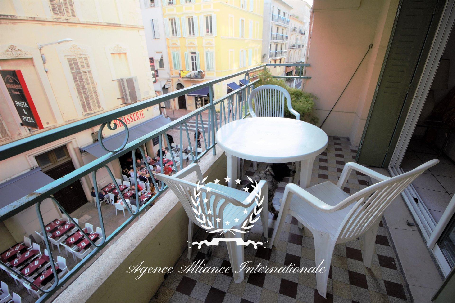 Cannes banane - Carré d'or - 3 pieces terrasse