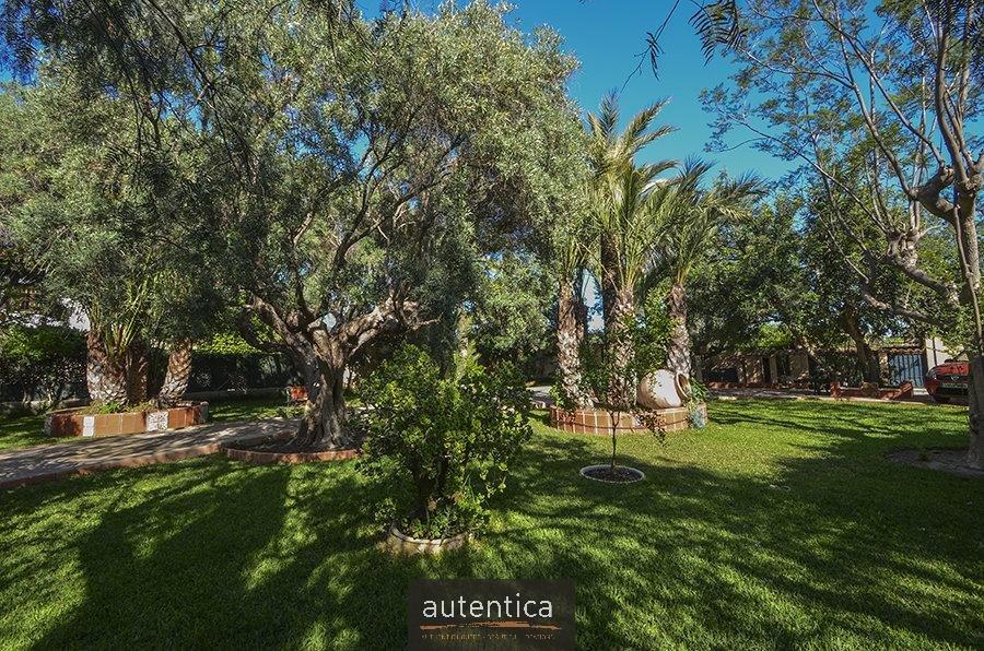 Charming villa located in a beautiful garden.
