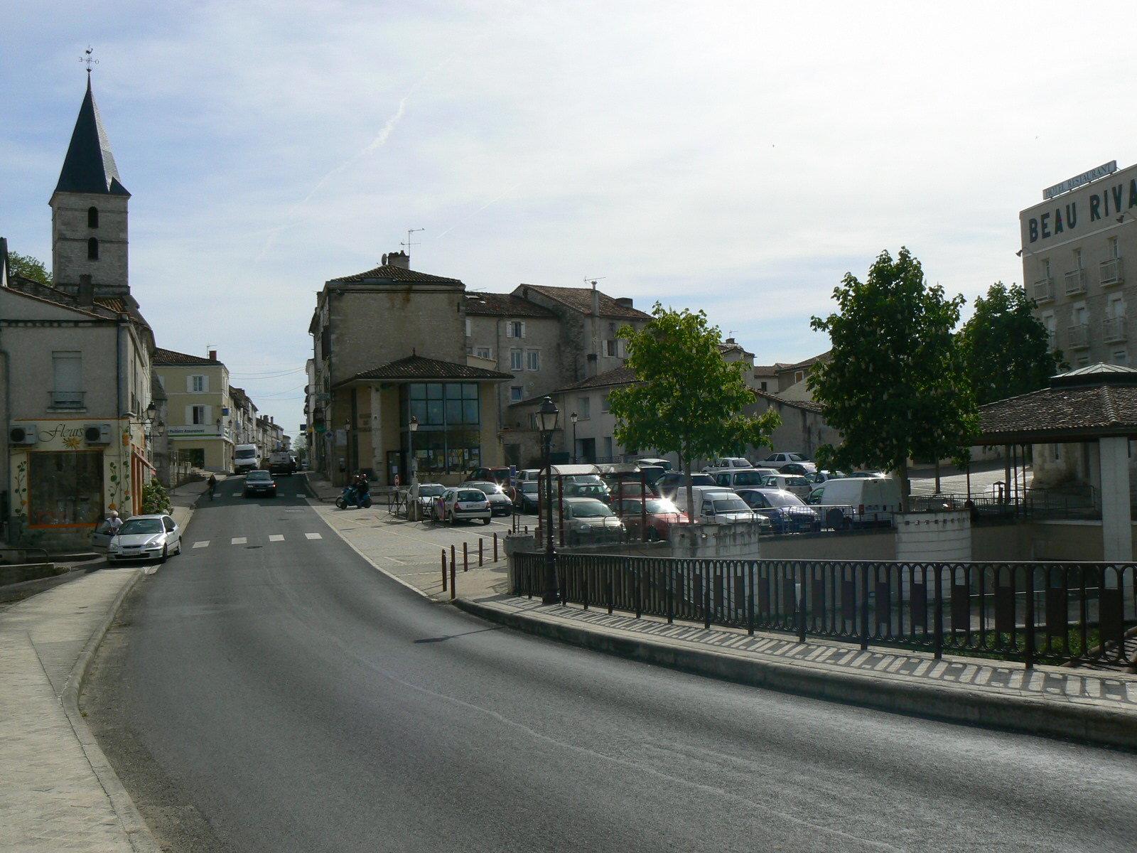 Mansle centre
