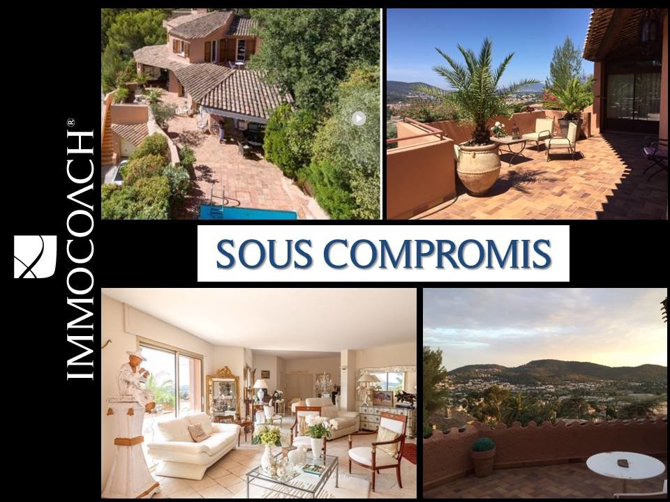 Beautiful villa with a panoramic view near the center of Hyères