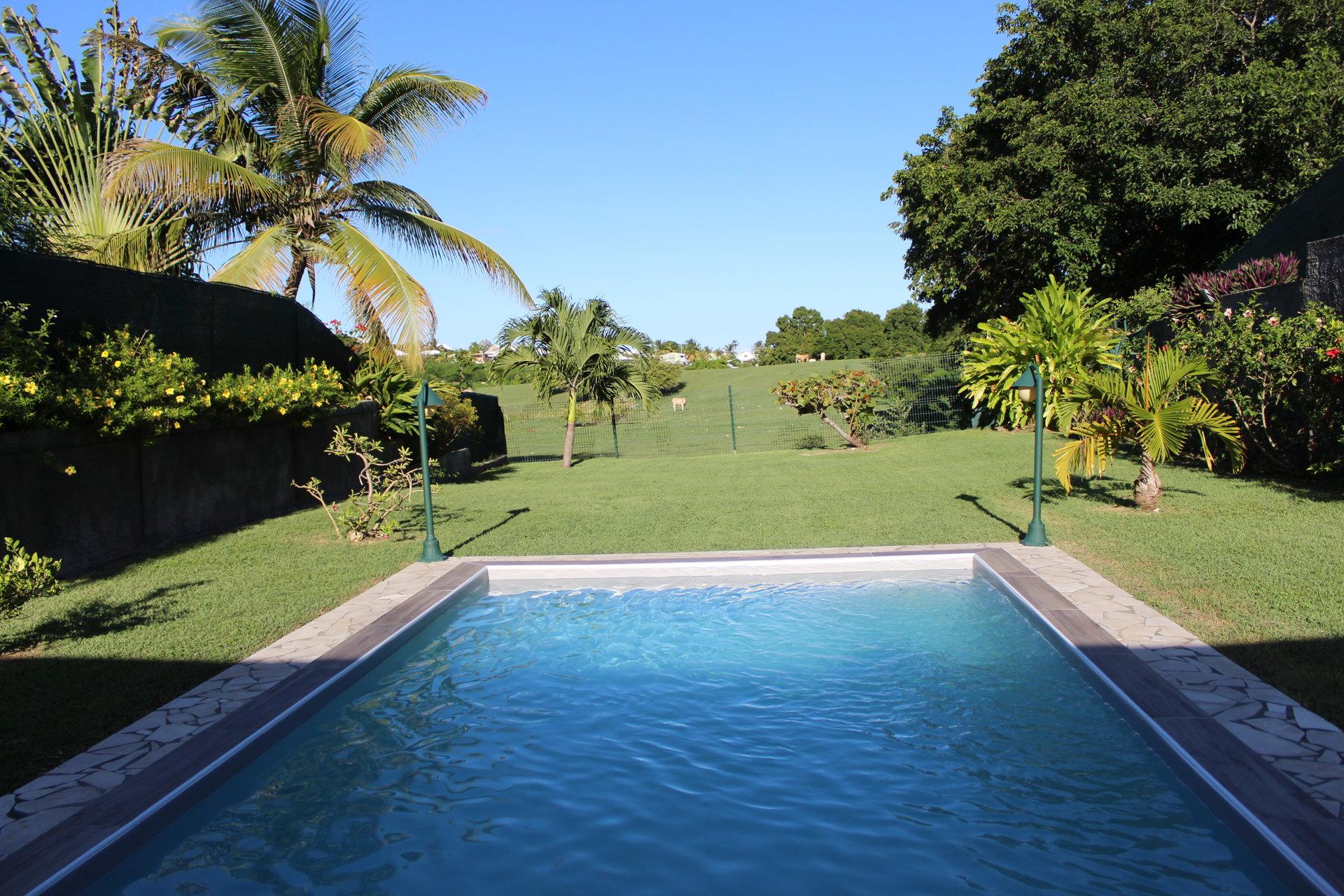 villa avec piscine saint françois