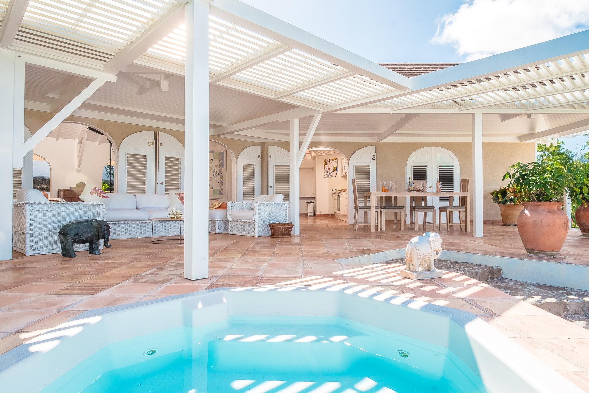 Villa à Saint Barthélemy - Pointe Milou